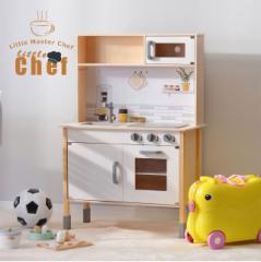 \還元祭クーポン利用可/おままごと キッチン 木製 付属品付き ままごとセット 誕生日 台所 知育玩具 子供用 子供 収納 まねっこ コンロ