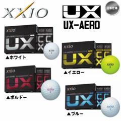 2016 ダンロップ ゼクシオ UX-エアロ DUNLOP XXIO UX-AERO 1ダース ゴルフボール 日本仕様【メール便不可】