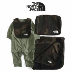 ザ ノースフェイス THE NORTH FACE パックセット ブランケット スタイ ロンパース NNB21807 ギフトセット (ベビー)