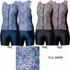 アリーナ(ARENA)女性用 フィットネス水着 ウイメンズ大きめカラースナップ付きセパレーツ(差し込みフィットパッド) FLA-0948W