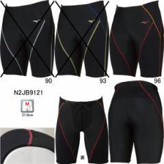 ミズノ(MIZUNO)男性用 フィットネス水着 メンズBGスイムハーフスパッツ  N2JB912196