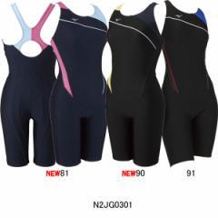 ミズノ(MIZUNO)女性用 フィットネス水着 ウイメンズオールインワン N2JG0301