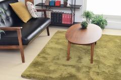 ラグ 長方形 滑り止め 洗える 北欧 マット カーペット シャギーラグ 絨毯 じゅうたん Feeno 130×190cm Square type(代引不可)【送料無料