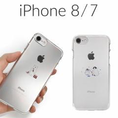 2adf269c5b iPhone 8 ケース iPhone 7 カバー Dparks ソフトクリアケース ミニ動物 アイフォン8 アイフォン7