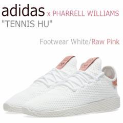cd66430e5166d アディダス スニーカー adidas x メンズ レディース ヒューマン レース テニス ファレル ウィリアムス ホワイト ピンク CP9763  シューズ
