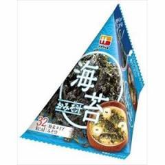 ハナマルキ 三角パック ごちそう具材 海苔のおみそ汁 10入