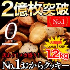 半年に一度の大増量1kg→1.2kg!【選べる豆乳おからZEROクッキー】 訳ありだからお得!選べるダイエット