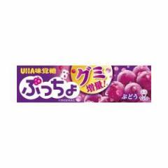 UHA味覚糖 ぷっちょ ぶどうスティック 10粒×10入