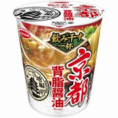 エースコック タテ型飲み干す一杯 京都背脂醤油ラーメン 12入
