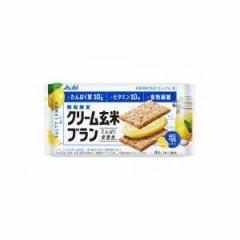 アサヒグループ食品 クリーム玄米ブラン 塩レモン 72g×6入