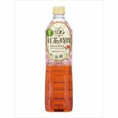 UCC上島珈琲 紅茶の時間ティーウィズピーチ低糖930ml×12入