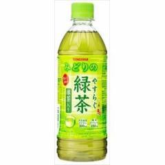 サンガリア やすらぐ抹茶入り緑茶 P500ml×24入