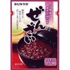 サンヨー堂 ぜんざい 十勝産小豆100%使用   160g×10個入