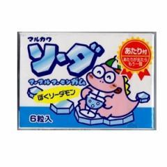 ポイント消化 丸川製菓 ソーダマーブルガム 33入