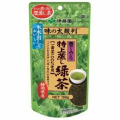 伊藤園 味の太鼓判 特上蒸し緑茶1000 100g×10入