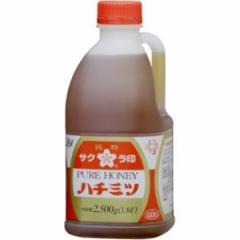 加藤美蜂園 サクラ 蜂蜜 ポリ 2.5kg×1本から