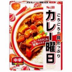 エスビー食品(S&B) カレー曜日レトルト 中辛 230g×5入