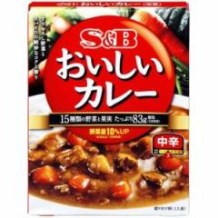エスビー食品 S&B なっとくのおいしいカレー(中辛) 180g×6入