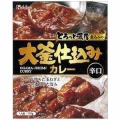 ハウス食品 大釜仕込カレー(辛口) 170g×10入