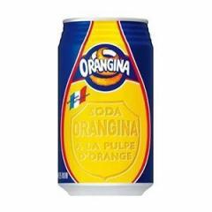 サントリーフーズ オランジーナ(缶) 340ml×24入