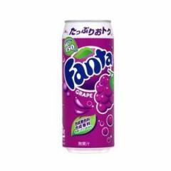 日本コカコーラ ファンタ グレープ(缶) 500ml×24入