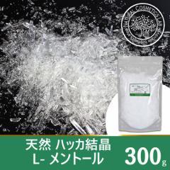 天然 ハッカ結晶 L-メントール 300g (メントールクリスタル)