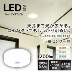シーリングライト 照明 LED ライト 小型 アイリスオーヤマ LEDシーリングライト 小型シーリングライト 1200lm SCL12NMS-MCHL SCL12LMS-MC