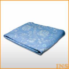 掛け毛布 洗える電気綿掛け毛布 EM-733 毛布 電気 暖房 布団 送料無料 ダニ退治 ダニ 洗濯 あったか 天然素材 綿