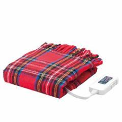 電気ひざ掛け毛布 レッド ☆お仕事やご家で暖かく