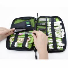 モバイル PCアクセサリー収納バッグ   旅行用 軽量
