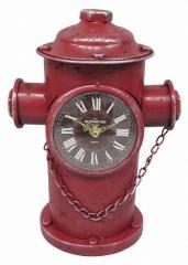 レトロな消火栓スタイルのアンティーク・クロック