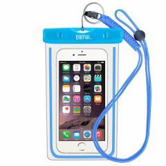 スマホ 防水携帯ケース いろいろな色があります。(写真 : ブルー)