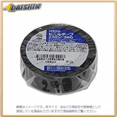 エスロンテープ360 19X10 黒 [00026402]
