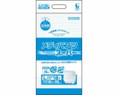 介護用紙おむつ メディパンツスーパー L18 3210 18枚×4袋 近澤製紙所
