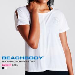 ビーチボディ スポーツウェア レディース トップス ヨガウェア 半袖 Tシャツ 重ね着 ジョッキング 吸汗 ランニング 速乾 伸縮性 快適 ダ