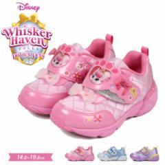 ディズニー スニーカー キッズ 軽量 抗菌 防臭 子供靴 スニーカー 女の子 かわいい 子供用 シューズ キッズスニーカー マジックテープ プ