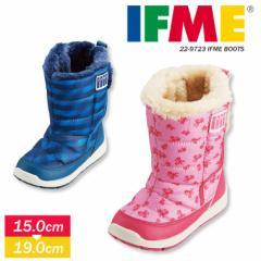 イフミー IFME 子供靴 ブーツ キッズ 雪遊び 防寒 かわいい おしゃれ 子ども スノーブーツ 女の子 男の子 マジックテープ 防滑仕様 安心