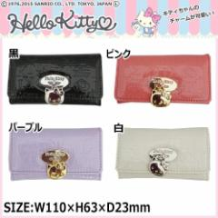 サンリオ Hello Kitty ハローキティ エナメル素材 キーケース HK33-6