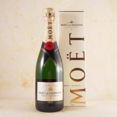 お歳暮 ギフト モエ・エ・シャンドン・ブリュット・アンペリアル 白(箱入り) 750ml 正規品 フランス シャンパン