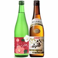 お中元 ギフト 飲み比べ 送料無料 なごみの日本酒セット 一ノ蔵ひめぜん&八海山特別本醸造 720ml 日本酒 2本セット