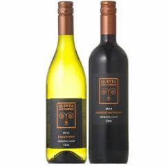 お歳暮 ギフト 送料無料 ワイン オーガニックワイン キンタ・ラス・カブラス シャルドネ&カベルネ・ソーヴィニヨン 赤白 ワインセット 7