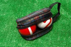 ゲートボール ニチヨー NICHIYO 公認バック入りボール 2個セット 練習用に最適!