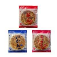 本場関西風 業務用 冷凍お好み焼き 豚玉・いか玉・ミックス焼 3種食べくらべ 各3枚セット 代引き不可