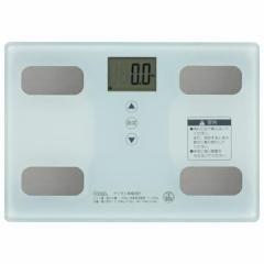 OHM 体重体組成計 ホワイト HB-KG11R1-W