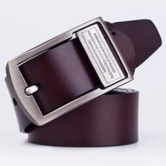 メンズ 紳士ベルト 本革 レザー 牛革 ベルト メンズベルト プレゼント バックルベルト ビジネス ベルト