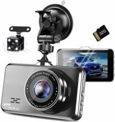 【送料無料】1296P高画質 ドライブレコーダー 前後カメラ SONY IMX382センサー 32GBカード付き アルミ合金製 ACR-161