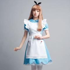 【ハロウィン コスプレ アリス】 LLL Rose Garden Girl 【送料無料】AMO アモ 不思議の国のアリス メイド服 メイド かわいい ロング 可愛