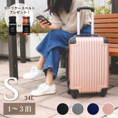 スーツケース キャリーバック Sサイズ  1泊 2泊 3泊 TSAロック搭載 送料無料 海外旅行
