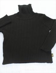 10d671c595d82 ファミリア Familiar 長袖Tシャツ タートル 100cm 黒系 トップス 無地 キッズ 男の子 女の子 子供服