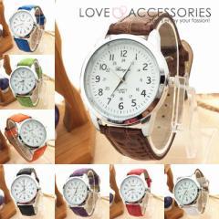 レトロ風インデックスがおしゃれなレディースファッションウォッチ 腕時計 女性用 時計 かわいい
